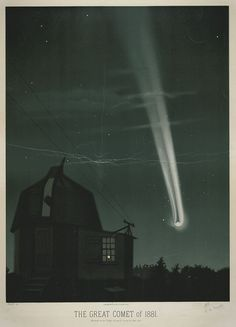 Depictions spanning almost a whole millennium - in chronological order - of comets, meteors, meteorites and shooting stars.