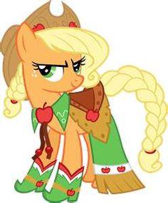 Applejack's gala dress.