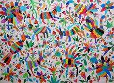 Arte Mexicano | Pintora Lourdes Villagómez | Mexico