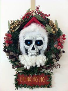 Hogfather DEATH Wreath by puggdogg on DeviantArt