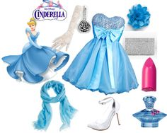 """Modern Disney Princess Cinderella"" by anra on Polyvore"