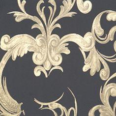 Behang: gebaseerd op sierhekwerk (niet meer leverbaar)