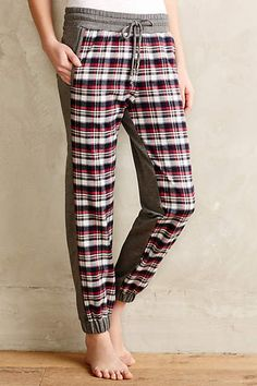 Plaid Panel Loungers - anthropologie.com #anthrofave #anthropologie