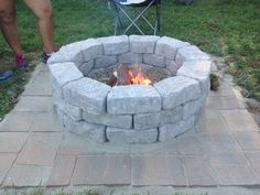 homemade fire pit with Melissa Gonzalez and Sara Witmer!!!