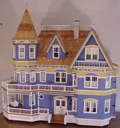 Queen Anne dollhouse kit by Real Good Toys - simply beautiful!