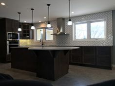 This was a massive home renovation, with the focus on kitchen construction. Our custom designed solution created open concept, contemporary space the family Farmhouse Renovation, Home Renovation, Kitchen Renovations, Open Concept, Custom Design, Contemporary, Home Decor, Decoration Home, Room Decor
