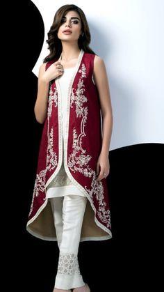Sania Maskatiya Latest Shades Of Autumn Eid Collection 2016 Muslim Fashion, India Fashion, Asian Fashion, Simple Dresses, Beautiful Dresses, Nice Dresses, Western Dresses, Indian Dresses, Pakistani Outfits