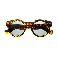 Celebrity Retro Fashion Style Keyhole Round Sunglasses Shades R19