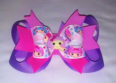 Lalaloopsy Hair Bow by MiaBellaCrafting on Etsy