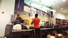 PacSun NYC Pop-Up Shop Time-Lapse