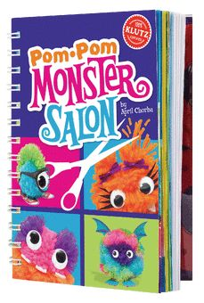 Klutz Pom-Pom Monsters Craft Kit for Kids + Other craft kits for children. Great holiday gift ideas. #sponsored