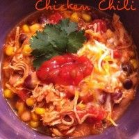 Cilantro Lime Chicken Chili