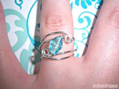Wire Wrapped Ring - click for FREE Tutorial
