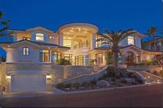 Spanish Vegas Mansion, this is my DREAM HOME!!!!!!! omg!!!!!!!!
