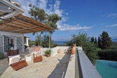 Stunning villa nestled on the hillside of Corfu Island