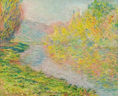 Automne À Jeufosse by Claude Monet (France)