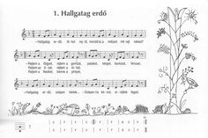 gryllus dalok kottája - Google keresés Ukulele, Preschool Activities, Sheet Music, Music Sheets, Kindergarten, Songs, Education, Google, Toddlers