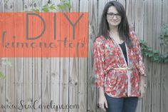 DIY : un top kimono facile