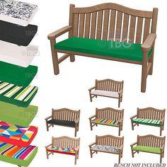 stone waterproof cushion pad lutyens teak bench garden furniture