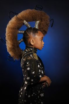 AfroArt Photo Series Challenges Beauty Standards with Young Black Models Afro Punk, African Hairstyles, Afro Hairstyles, Model Hairstyles, Wedding Hairstyles, Updo Hairstyle, Black Hairstyles, Hair Shows, Young Black
