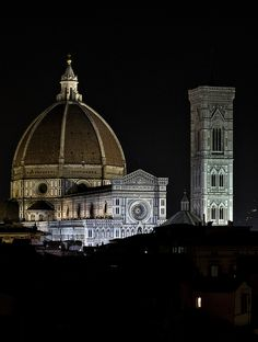 Duomo di notte - Cathedral at night | Florence Tuscany