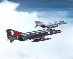 Royal Navy and US Navy Phantoms II
