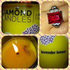 #Diamond Candles and #Pinning Beautifully