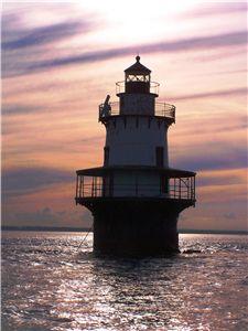 Hog Island Shoal Lighthouse, Rhode Island #VisitRhodeIsland