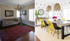 Westhampton-Beach-House---Dining-Room---Before-&-After-by-Chango-&-Co