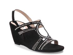 Stasha Wedge Sandal