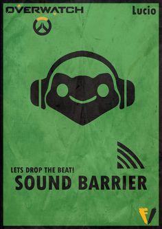 Overwatch Lucio - Sound Barrier by FALLENV3GAS on DeviantArt
