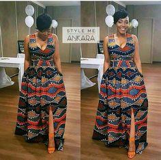 Ankara Styles For Ladies Keywords ankara maxi dress designs african print maxi dress new look chiffon kitenge dress afri. African Dresses For Women, African Print Dresses, African Attire, African Wear, African Women, African Prints, African Style, African Fabric, African Fashion Ankara