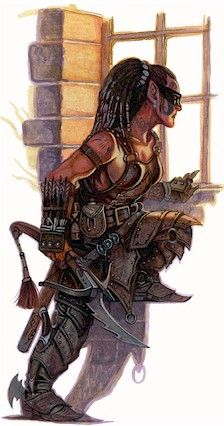 What a wicked vicious looking fey we have hear.  Sharp and deadly. WHOO.