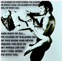Dirty Dancing <3 one of the best quotes of the movie