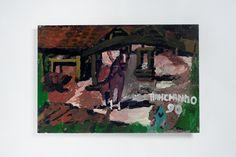 Ranchinho (Sebastião) - 1990   S/T  Óleo sobre Tela | Eucatex    40 x 60 cm