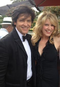 Director Michael Damian and Writer/Producer wife, Janeen Best Damian  at the movie premier of their film MOONDANCE ALEXANDER.