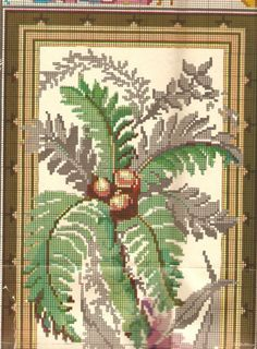 Cross Stitch Embroidery, Cross Stitch Patterns, Stitch 2, Rug Hooking, Cactus Plants, Needlepoint, Needlework, Victorian, Tapestry