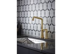 Kallista entertainment and bar faucets come in a range of styles for your kitchen or wet bar.Traditional in style, the Quincy(TM) Entertainment Faucet will enhance the look of any kitchen.