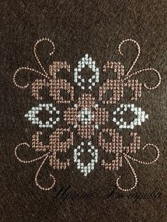 Machine Embroidery Design - Pattern cross-stitch French knot embroidery pattern The size of the design 83,7Х87,4mm Number of colors : 2 Number of shifts thread : 2 The number of stitches 9854 Formats : pes, hus, dst, jef, vp3 We need a good stabilization . You can use this design for