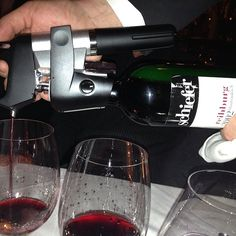 """#coravin accessing wine at #wallse"" via greenbergalan on Instagram"