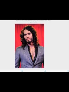 Russell Brand-eccentric and intelligent