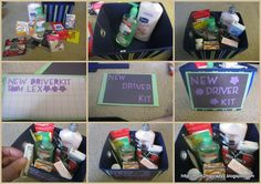 New Driver Survival Kit Sweet Sixteen Gifts 16 Cute 16th