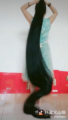 Long Ponytail Hairstyles, Braids For Long Hair, Cool Hairstyles, Beautiful Long Hair, Gorgeous Hair, Long Indian Hair, Long Hair Video, Playing With Hair, Super Long Hair