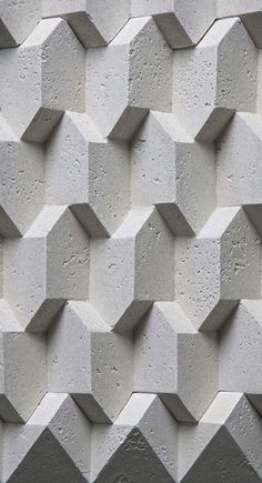 28 Ideas for wall pattern geometric texture Beton Design, Tile Design, Pattern Design, 3d Pattern, Pattern Texture, 3d Texture, Texture Design, Surface Pattern, Wall Patterns