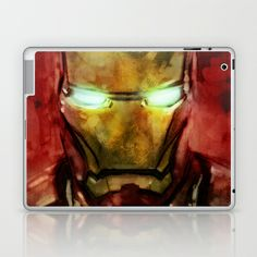 Iron Man Laptop & iPad Skin by SachsIllustration - $25.00