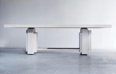 Kitale - Dining table rectangular - Xavier Dohr Studio Paris