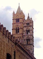 Cattedrale di Palermo - Campanili del prospetto nord ovest