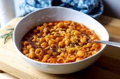 quick pasta and chickpeas – smitten kitchen