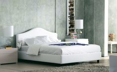 Peonia Double bed / Flou