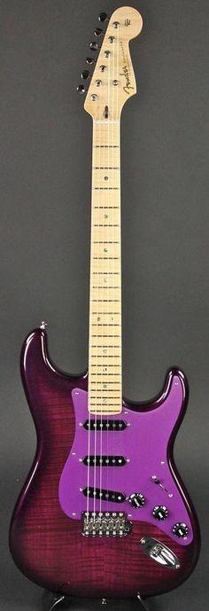 Fender Custom Shop Masterbuilt The Purple Stratocaster by Jason Smith Trans Purple